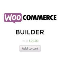 Builderの任意の場所にWooCommerceECプラグインを表示します。このプラグインで簡単にカートを追加できます。